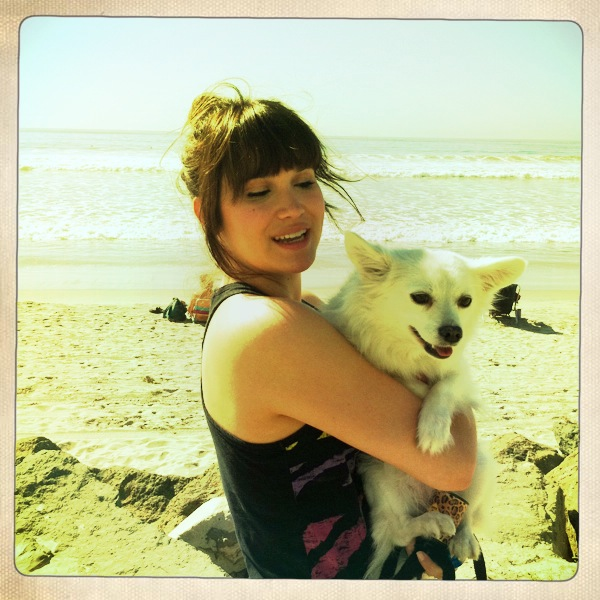 My beach baby, many years ago.