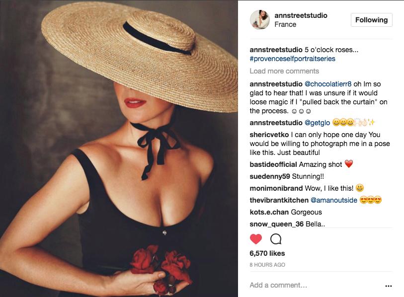 Jamie Beck / Ann Street Studio / Instagram