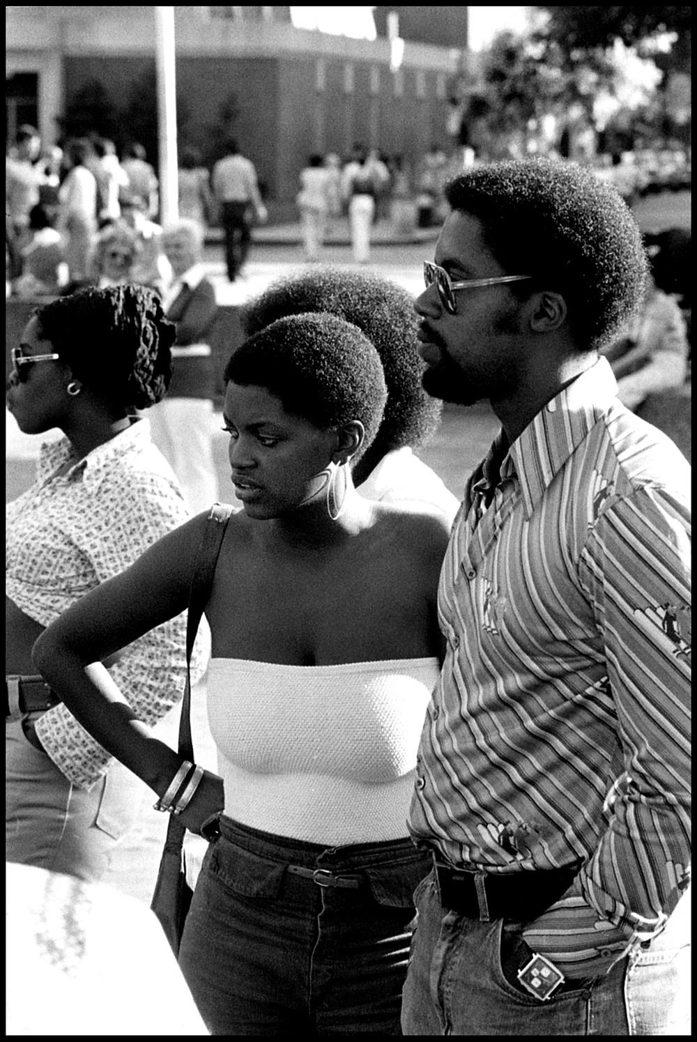 Washington Square, New York City 1972  photo  Frank Habicht