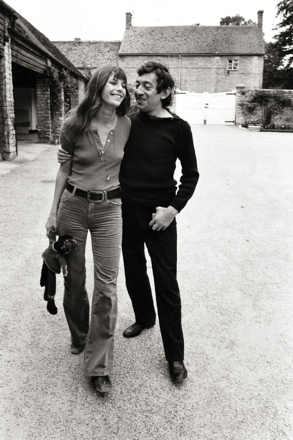 Jane Birkin and Serge Gainsbourg. Oxford 1969  Photograph by Frank Habicht