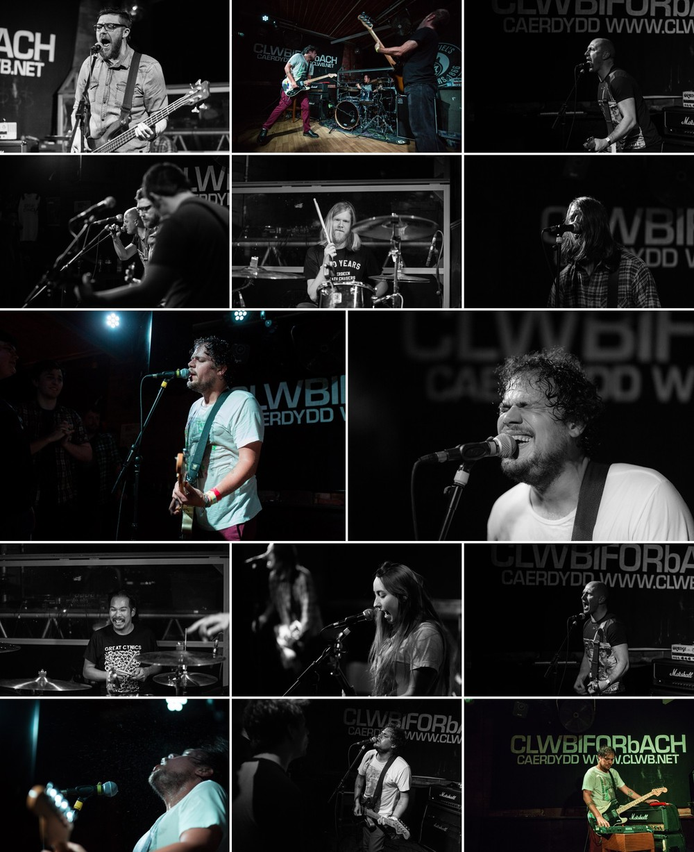 Jeff Rosenstock with Great Cynics and Vega Bodegas march 31st 2016 Clwb Ifor Bach