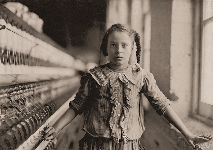 Lewis Hine's Bibb Girl No 1