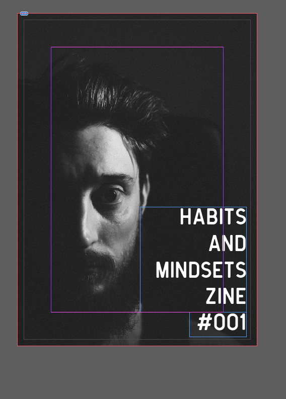 Habits and Mindsets Zine 001 . Chris Chucas 2018