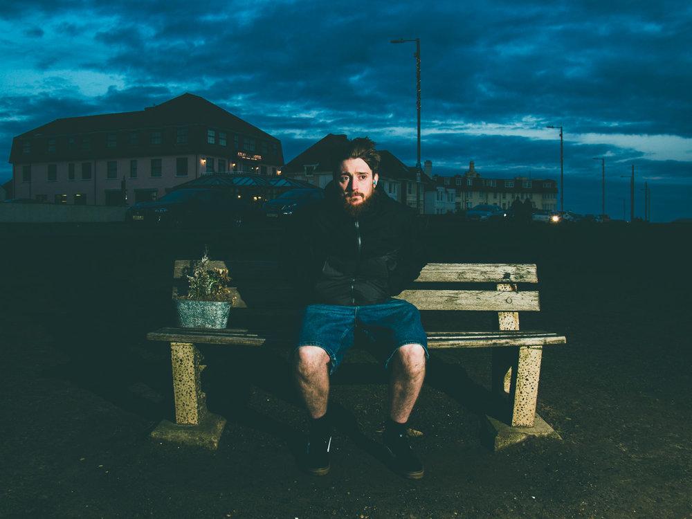 Self Portrait, Chris Chucas.2018