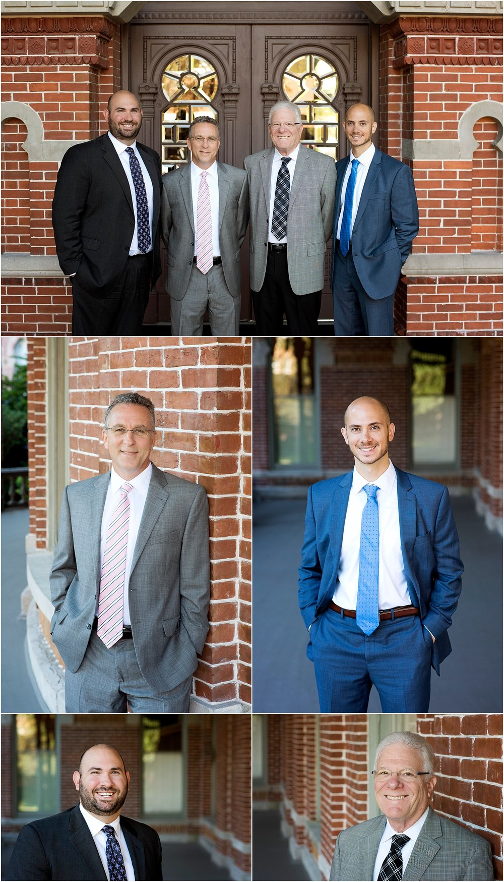 financial advisor team headshot