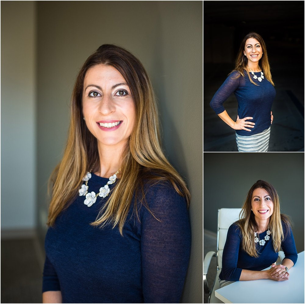 Corporate headshot tampa