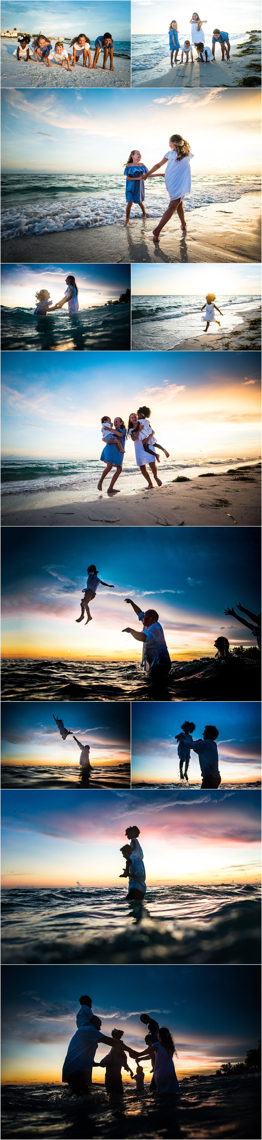 Nothing like a little ring around the rosie to end our gorgeous beach vacation photo shoot!!!