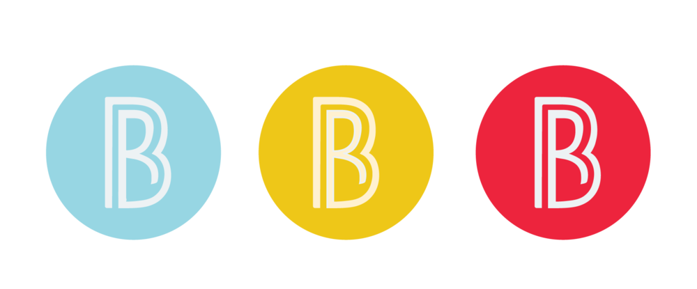 Color variations of the standard black and white logo.