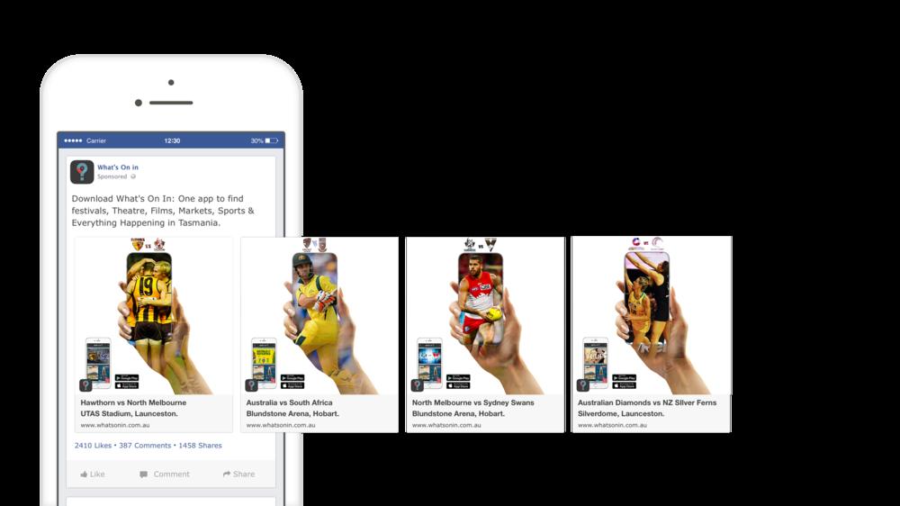 Facebook Carousel: Sport