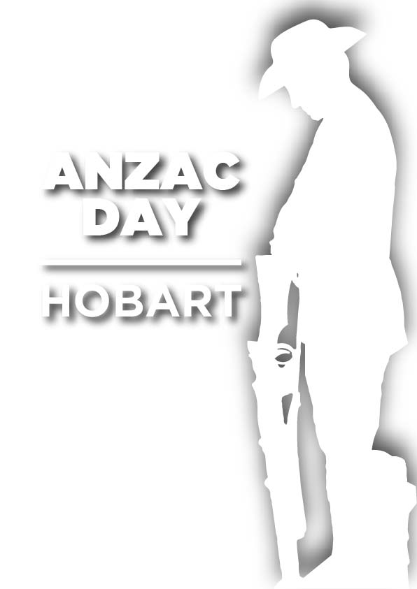 There will be several services, a parade, and display in Hobart from 6am