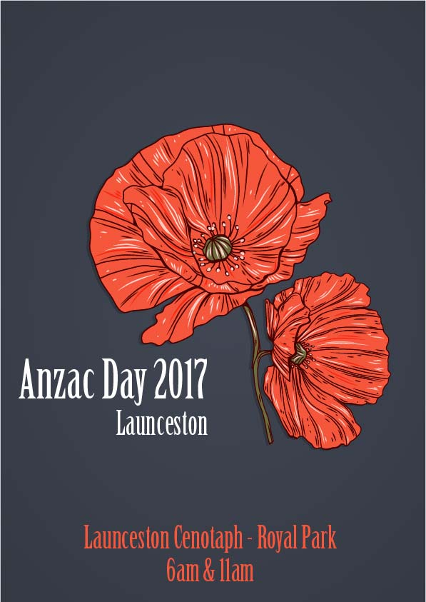 Launceston will see a Dawn Service at 6am as well as a later parade and service.