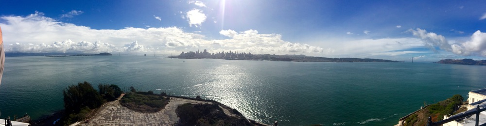 View from Alcatraz Lighthouse