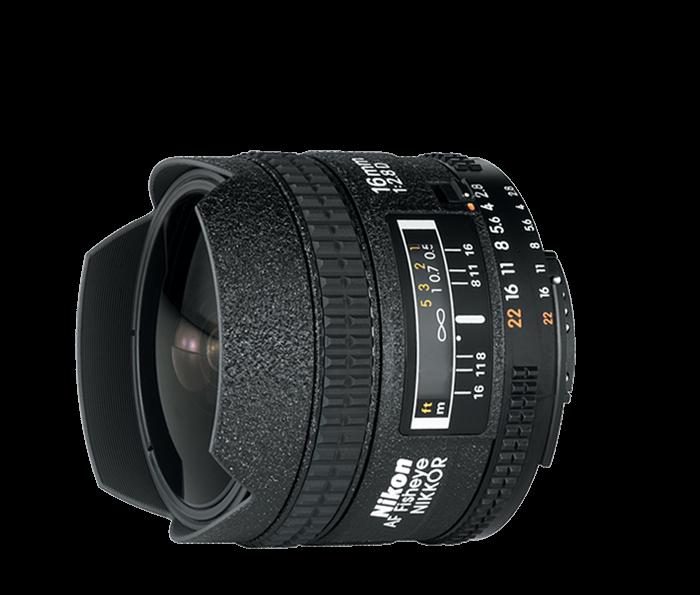 NIKKOR 16mm f2.8D Fisheye