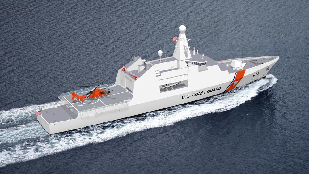 95m Offshore Patrol Vessel