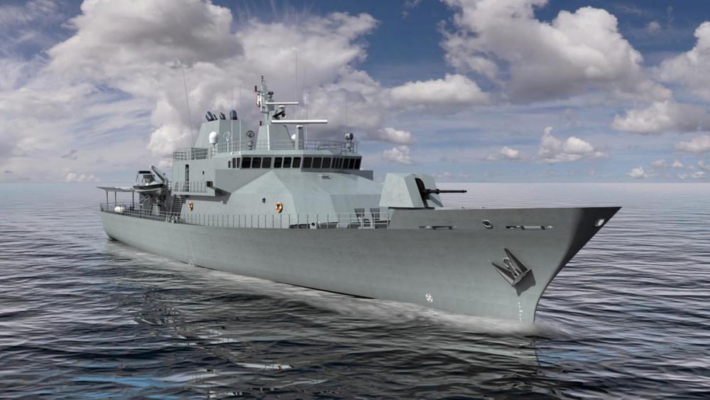 79m Irish 'Rosin Class' OPV