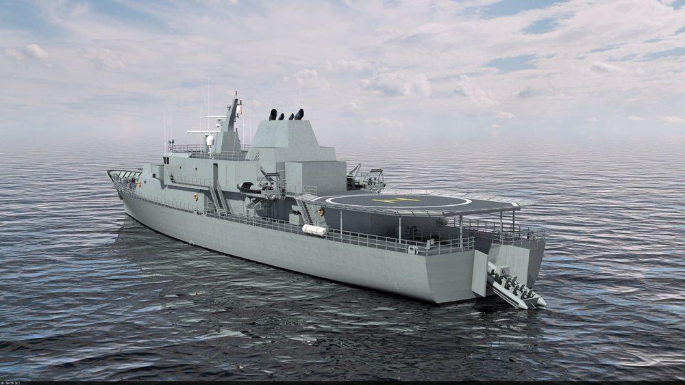 80m  Offshore Patrol Vessel
