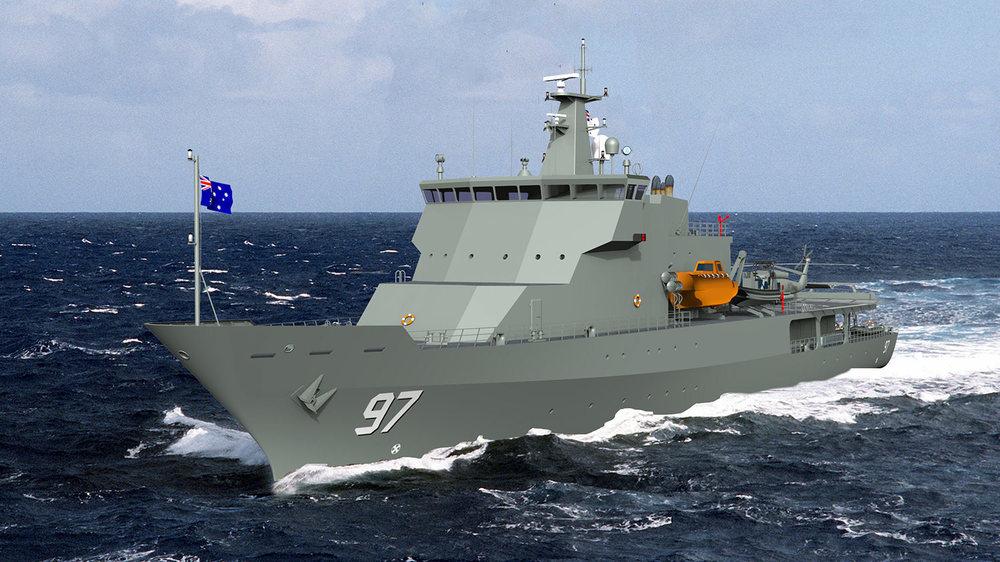 85m Multi Purpose Air Training Vessel
