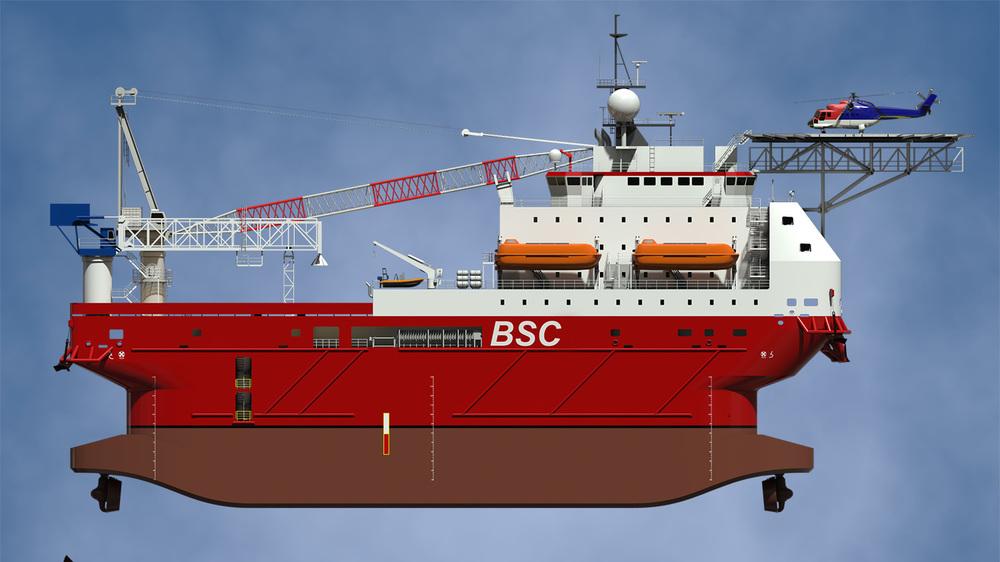 """Belait CSS1"" (elevation)"