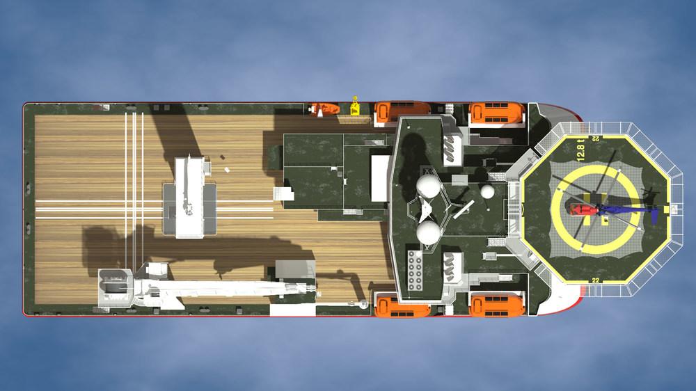 """""""CSS Derwent"""" (plan)"""