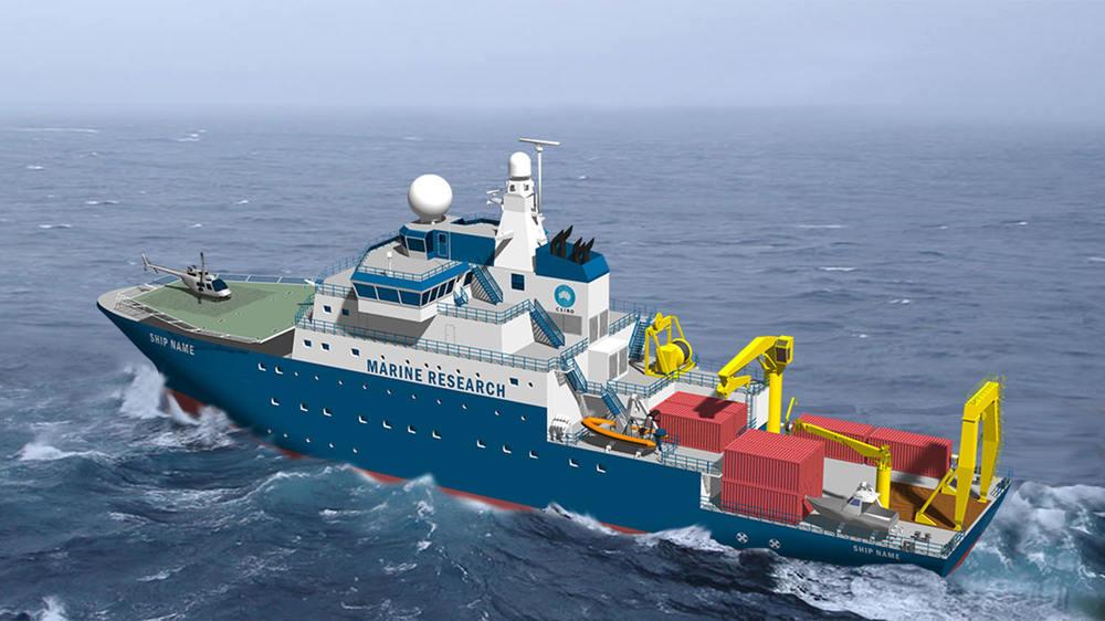 85m Research Vessel