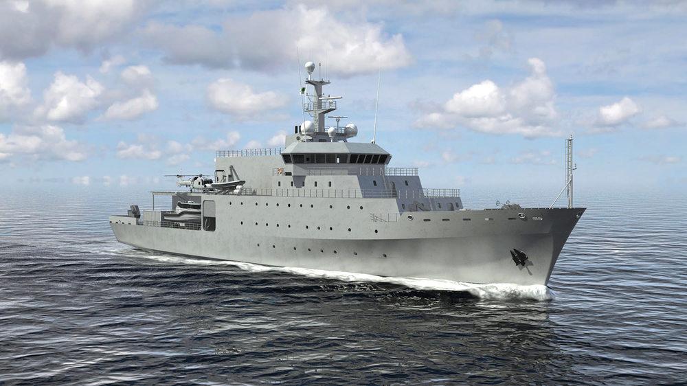 90.6 m  Hydrographic Survey Vessel