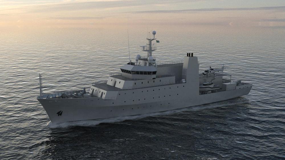 90.5 m Hydrographic Survey Vessel