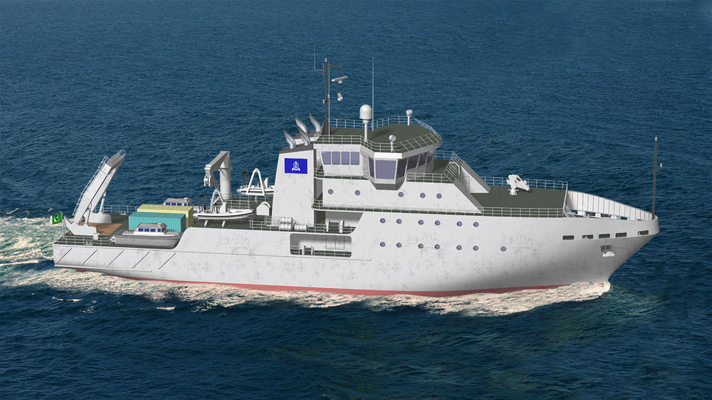 95 m  Marine Research vessel