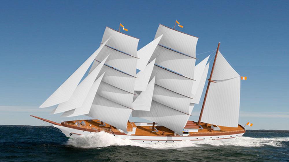 80 m Sail Training Schooner
