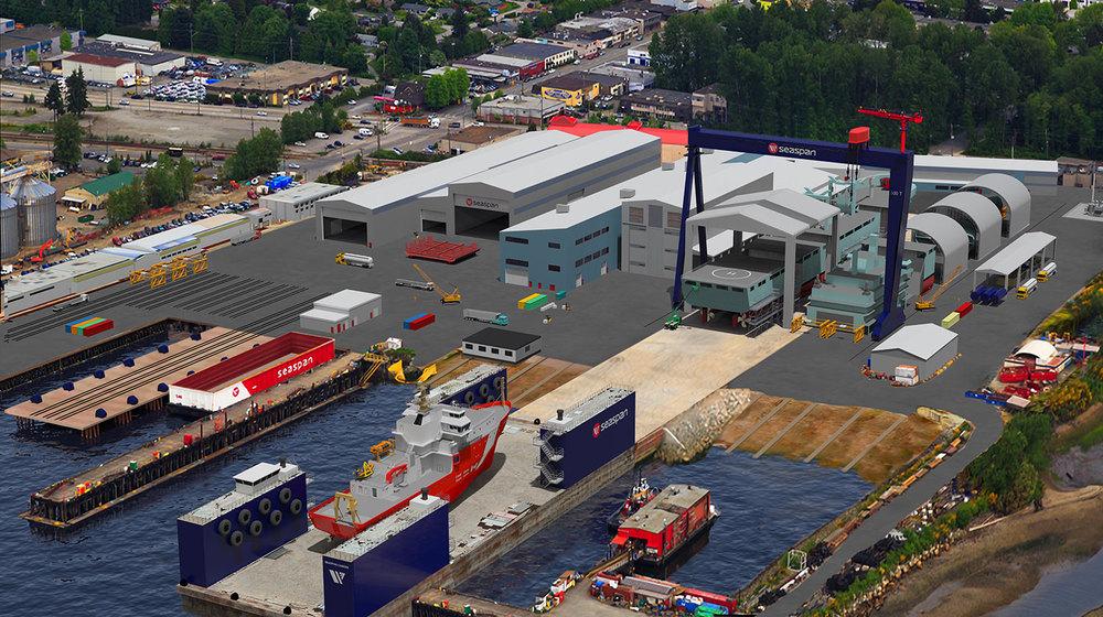 Vancouver Shipyard Modernization