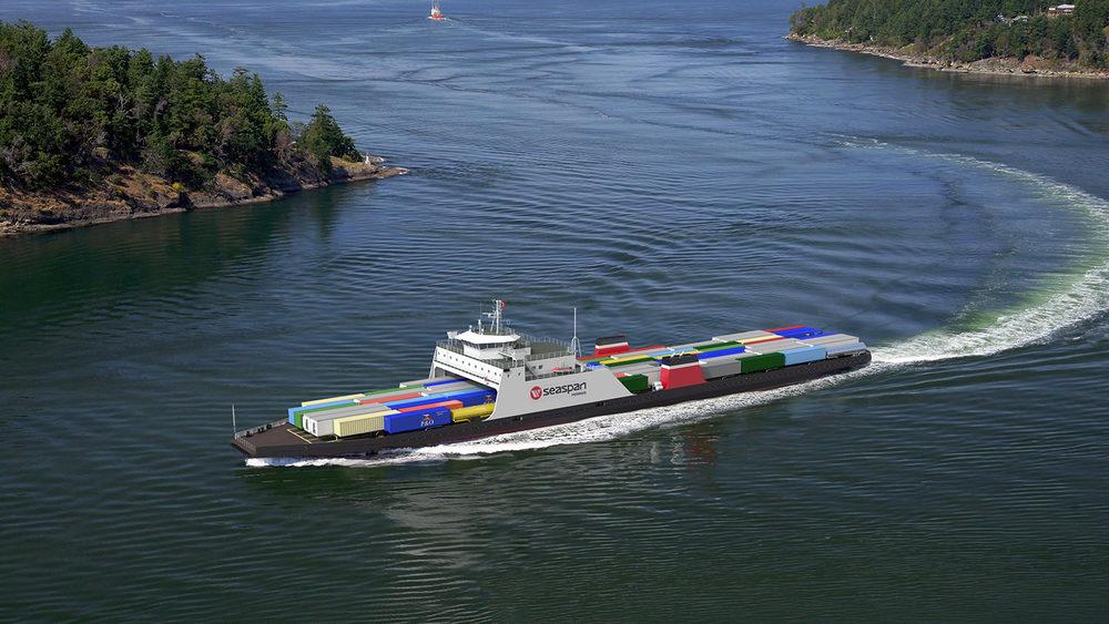 149m LNG Fuelled Trailer Ferry