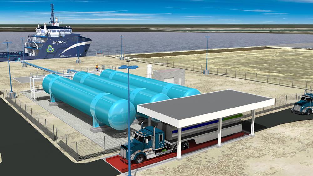 HGIM LNG Bunkering & Storage Facility