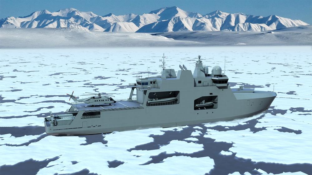 98m Arctic Patrol Ship