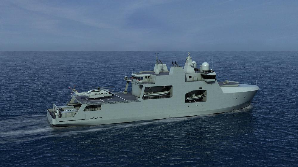 98 m Arctic Patrol Ship
