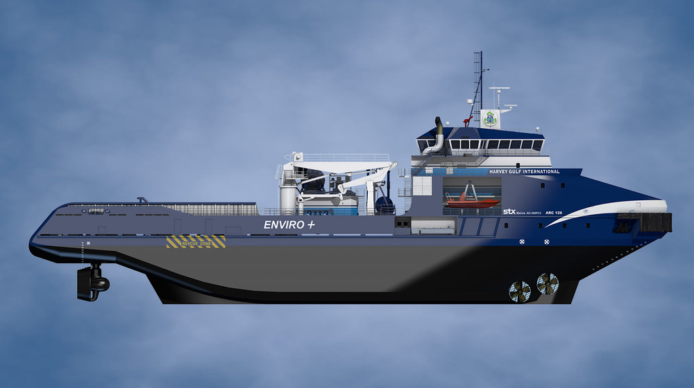 Polar Class 3 Hanchor Handling Tug Supply Vessel
