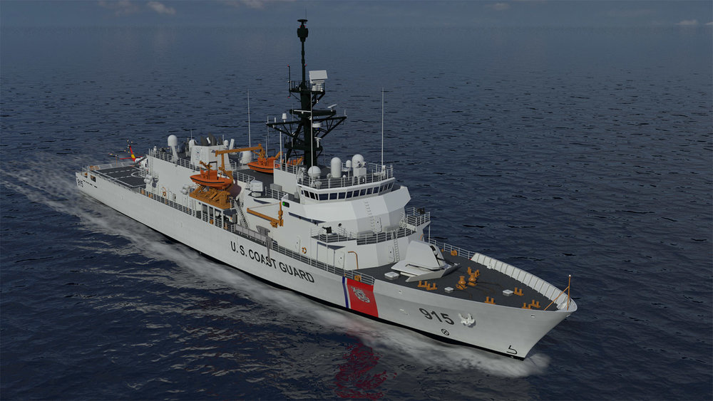 VARD 7 110 selected for USCG Offshore Patrol Cutter