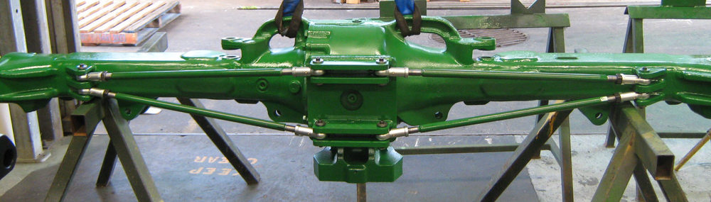 Completed Tractor Axle extension