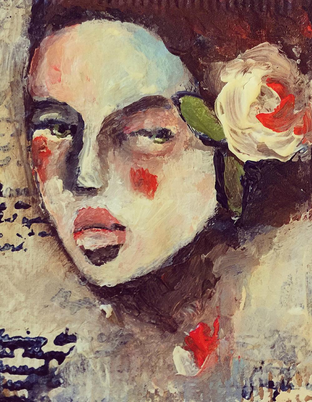 How to do tea bag painting, Jeanne-Marie Webb