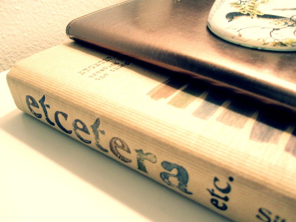 etcetera book
