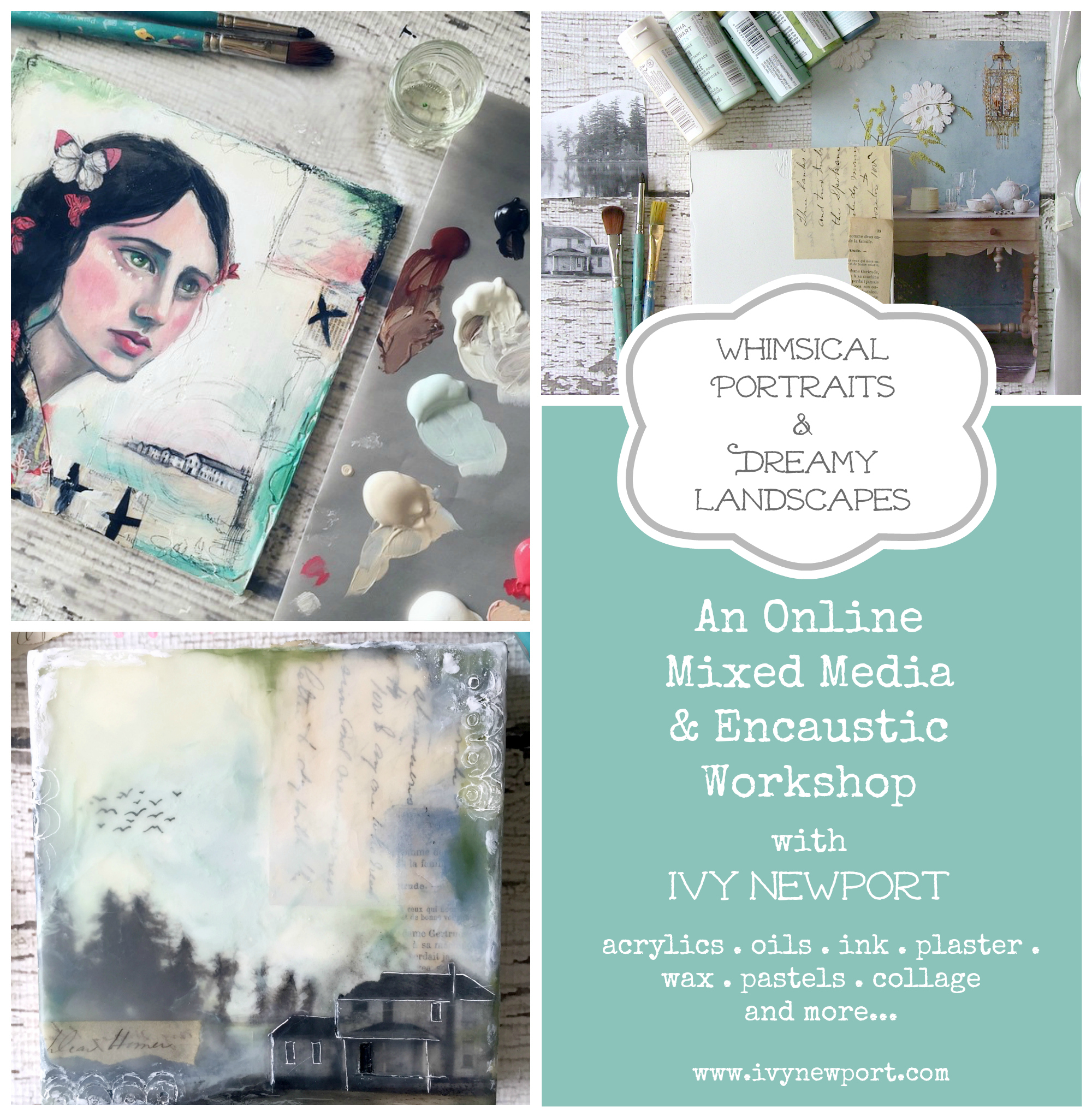 Mixed Media Online workshop IMAGE