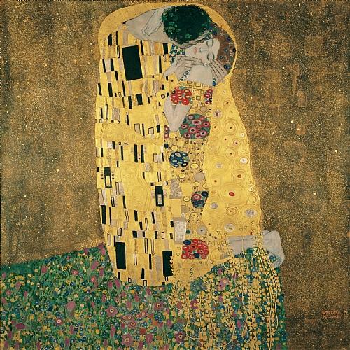 The Kiss, 1907-1908