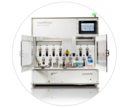 LiquidBiopsy® Platform An automated rare cell isolation and staining front-end for all types of molecular characterization, especially sequencing. Learn More →