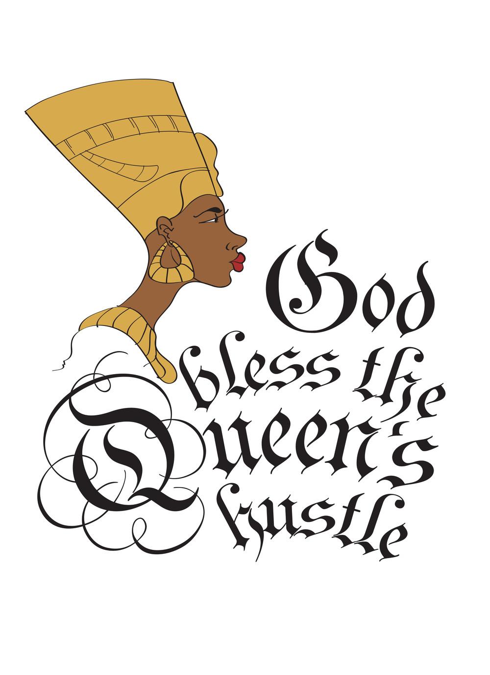 Supreme Queen tee