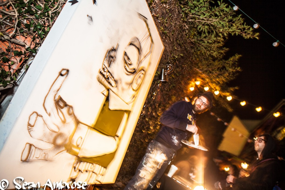 Live Painting by Ben Gregory