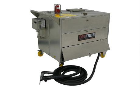 Polymelt 50 ATEX har stor kapasitet og er godkjent for bruk på offshore installasjoner.