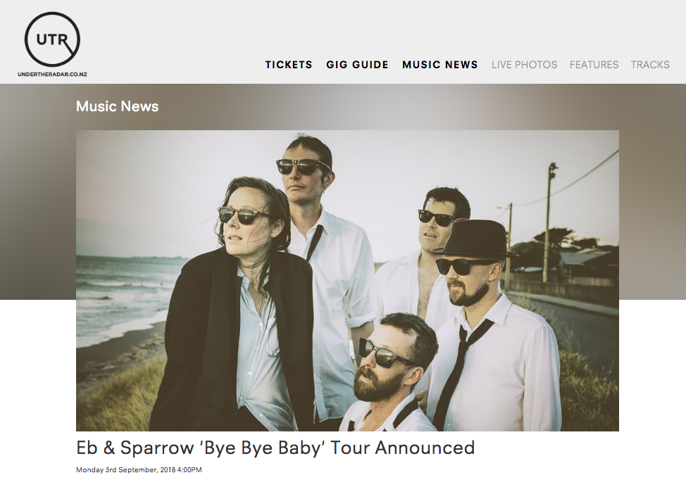 READ HERE - BYE BYE BABY TOUR