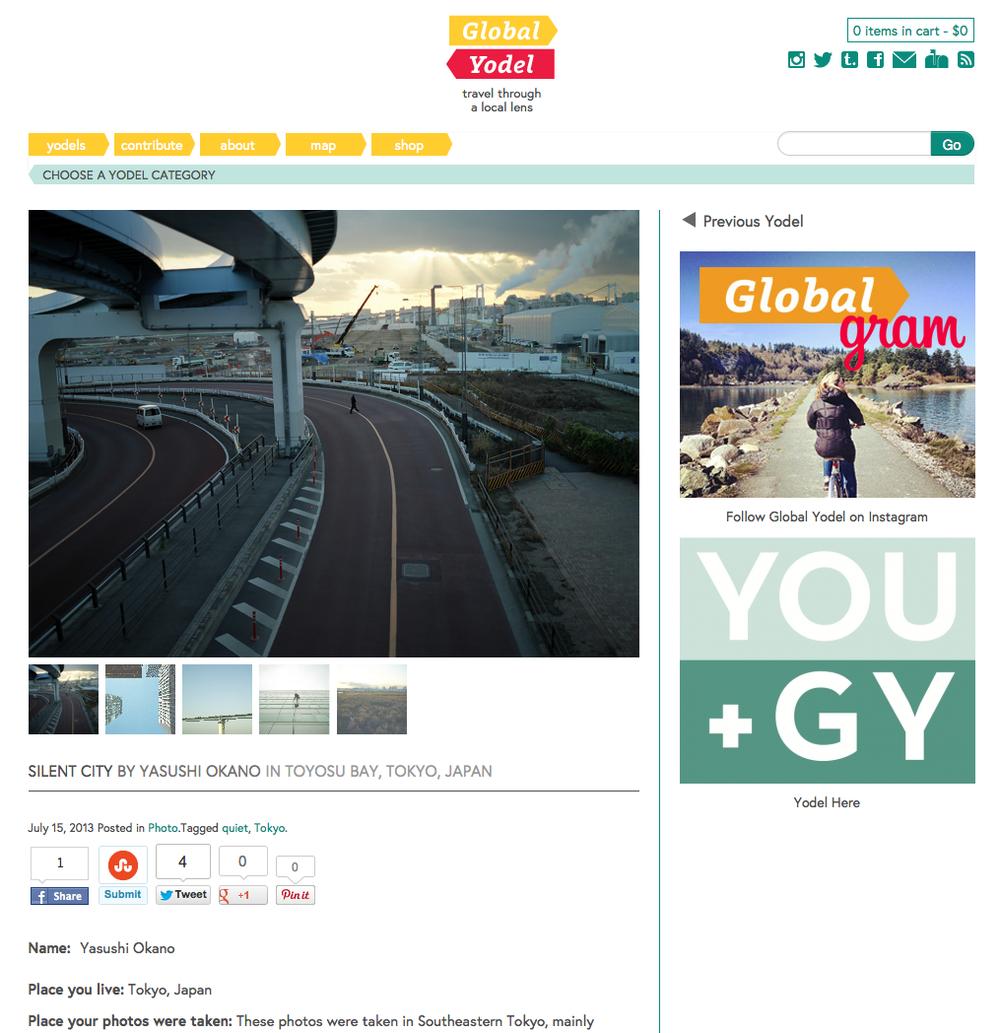 Global Yodel | Silent City by Yasushi Okano in Toyosu Bay, Tokyo, Japan