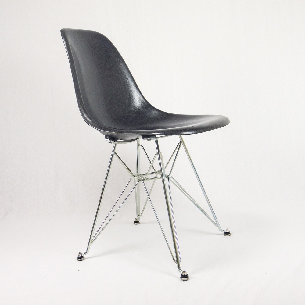 Affordable Chaise Eames Herman Miller Vintage Wide Black Eiffel Chair Jpg With