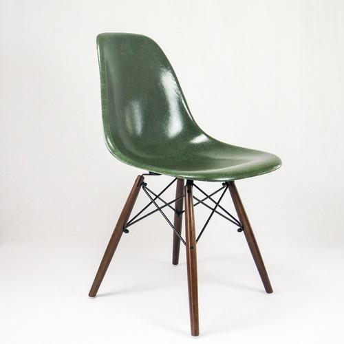 Dsw Olive Green Eames Herman Miller Vintage Epoq