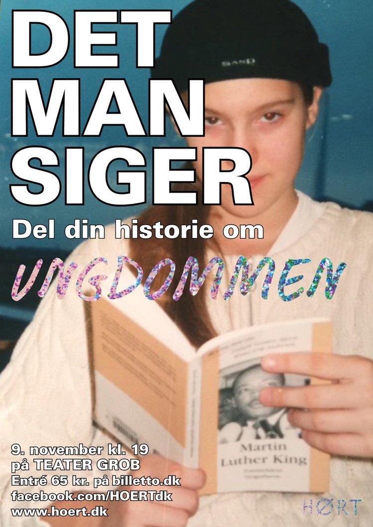 DET MAN SIGER - UNGDOMMEN