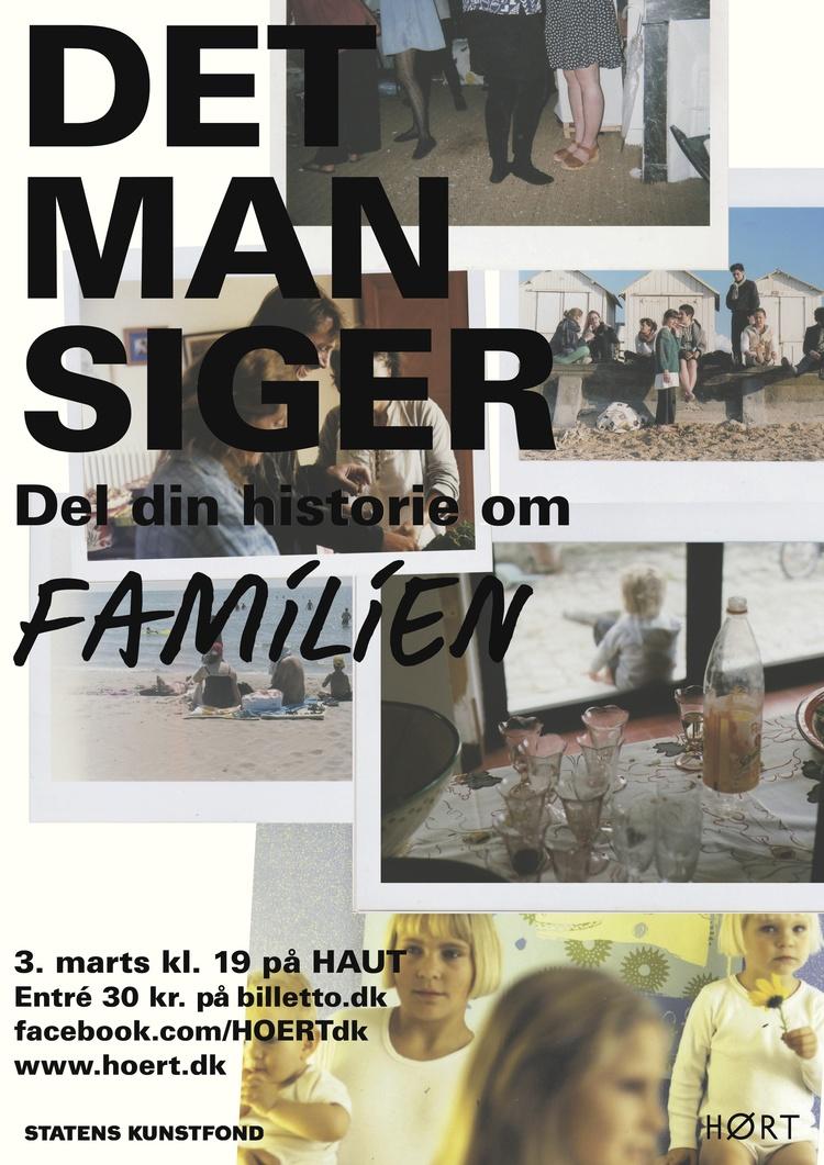 DET MAN SIGER - FAMILIEN